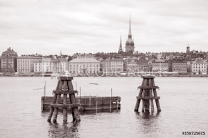 Picture of OldTown; Stockholm; Sweden